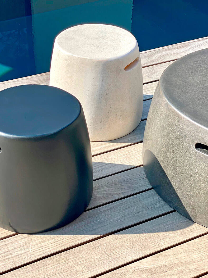 Esthers-favourites-M&L-fiberglass-Nick-side-table-poof-&-coffee-table-stool